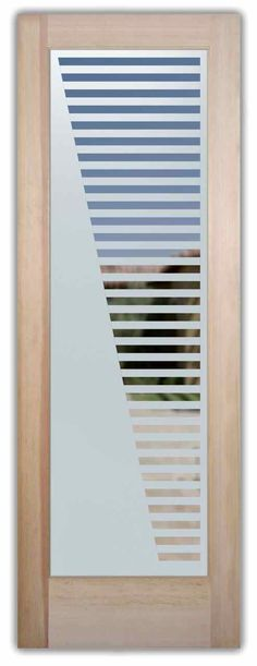 """When choosing an entry door most would think to have a solid wood door, but here at Sans Soucie we know Glass Makes all the difference. So thats why we made our Entry Door Designs fit any type of decor or imagination. For example our 100% Private Entry Door titled """"Grand"""" allows you to have …"""