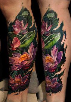 Magnificent Flowers Tattoo