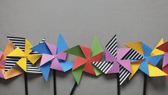 Go to link for free download of these cute pinwheels!