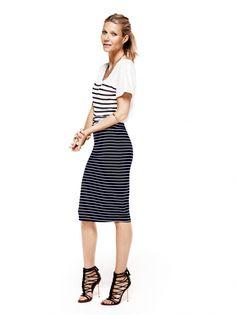 Gwyneth Paltrow - stripes
