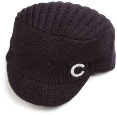 MLB Chicago Cubs Carrien Women's Knit Hat, Navy