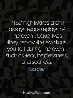 PTSD nightmares | post traumatic stress disorder | veterans | trauma | quotes | recovery | symptoms | signs | truths | coping skills | mental health | facts | read more about PTSD at thislifethismoment.com #PTSD-PostTraumaticStressDisorder #PTSD-Post-TraumaticStressDisorder #mentalillness
