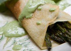 RECIPE: Vegan Asparagus Pesto Crepes | My vegan Valentine brunch menu | bcliving