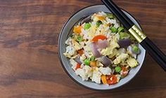 10-Minute Veggie Fried Rice