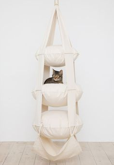 The Cat's Trapeze offwhite @ www.supercat.se
