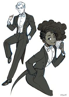 Since some people found my black tie notes helpful I decided to share my white tie notes and sketches here as well! Next I'll be researching Regency Era fashion.