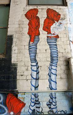 Timothy Lane Mural by Urban Cake Lady