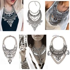 2016-New-Fashion-Vintage-Boho-Crystal-Collares-statement-Necklaces-Pendants-Choker-Maxi-Necklaces-Women-Collier-Femme/32427059548.html * You can find out more details at the link of the image.