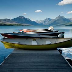Best for pure blue beauty: Lake McDonald, Montana