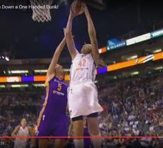 #basketfeminin #wnba: un nouveau dunk pour Brittney Griner (Phoenix Mercury) - vidéo