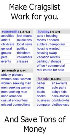 1000 images about craigslist for business on pinterest to sell online garage sale and tips. Black Bedroom Furniture Sets. Home Design Ideas