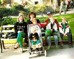 """royalfamilyalbum: """"Princess Diana with her sons and friends at a zoo. """""""