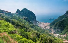 Amalfi from Valle dei Mulini, Amalfi Coast,Italy 2 24June2012 by rbrophy, via Flickr