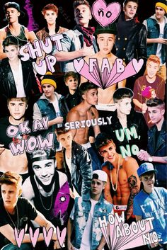 collage, cute, jb, justin bieber, love
