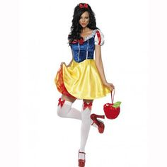 2661bf9efdbb3e Adult Snow White Costume Women Cosplay Purim Carnival Halloween Dress Girls  Fairy Tale Female Fancy Dress Plus Size Party Outfit on Aliexpress.com |  Alibaba ...