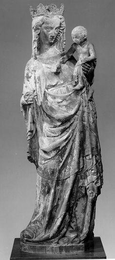 Virgin and Child. 14th century