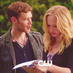 Klaus & Caroline always together as long as Tyler doesn't get in the way