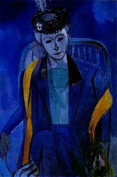 Matisse, Henri (1869-1954) - 1912 Portrait of the Artist's Wife