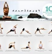 Infographic: 10 Essential Yoga Postures for Strength Athletes