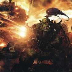Warhammer Art, Warhammer Fantasy, Warhammer 40000, Character Concept, Character Design, Orks 40k, Far Future, The Grim, My Images