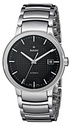 Men's Wrist Watches - Rado Mens R30939163 Swiss Automatic Watch ** See this great product.
