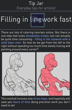 "Ligne Claire itscarororo: "" americanninjax: "" rtilrtil: "" Late last year I wanted to start a series Digital Painting Tutorials, Digital Art Tutorial, Painting Tools, Drawing Tutorials, Drawing Techniques, Drawing Tips, Art Tutorials, Digital Paintings, Drawing Stuff"