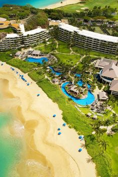 A 142-yard fresh water swimming lagoon, tropical gardens, wooden bridges, an outdoor jacuzzi set amidst lava rock formations and waterfalls cascading from lush tropical flower beds...there's no mistaking you're in Hawaii.  Sheraton Maui Resort & Spa (Lahaina, Hawaii)