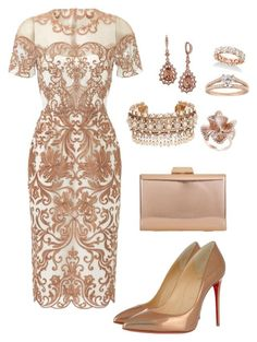 """Royal Wedding"" by sommer-reign on Polyvore featuring Notte by Marchesa, Christian Louboutin, KoKo Couture, Marchesa, Givenchy and Effy Jewelry"