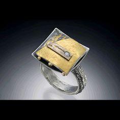 Nina Mann Artist in Precious Metals | Rings