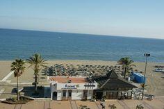 Chiringuito - Beach Club  Hotel Yaramar. Fuengirola, Costa del Sol. SPAIN