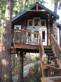tree houses for adults | Adult Tree Houses: Hey, Kids, Make Like a Tree and Leaf!