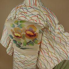 Online Shop➡︎Top Pageより  #きもの #きものコーディネート #訪問着 #色留袖 #留袖 #着物セット #着物 #帯 #袋帯 #西陣織 #kimono #kimonos #obi #kimonocoordinate #kimonostyle