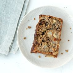 Apple Loaf Cake — Whole wheat apple loaf cake - delicious and moist