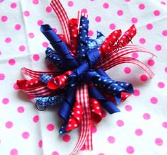 4th of July Dress 3T-4T Girls Custom Boutique & 4th of July Hair Bow NEW & Cute! - this will be listed for sale on ebay. starting 6-6-13. SEARCH EBAY FOR ITEM NUMBER 200931144682