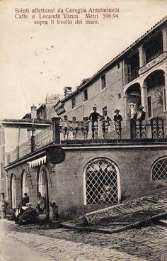 1910 Coreglia Antelminelli (Garfagnana Lucca) - Caffè e Locanda Vanni