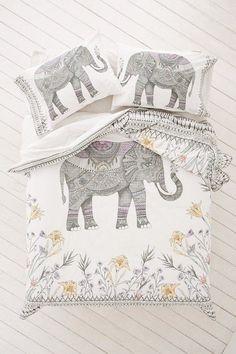 ☆ Boho elephant bedding
