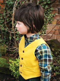 I don't have a little boy, but oh! Marmalade and Mash, a bright boys waistcoat for a/w 2012