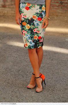 buty Zara, spódnica Asos