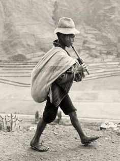 On the way to Cuzco, Peru 1954  | LACMA Collections