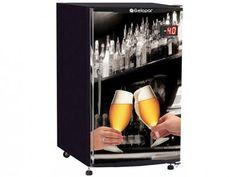 Cervejeira/Expositor Vertical 1 Porta - 112L Frost Free Gelopar GRBA 120B com as melhores condições você encontra no Magazine Thebestpricebr. Confira!