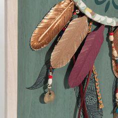GYPSET wooden dreamcatcher wall art 30 x 40 cm | Maisons du Monde