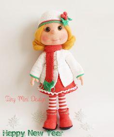 Amigurumi Bebek Lily- Amigurumi Lily Doll   Tiny Mini Design