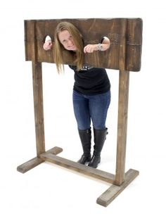 Event Prop Hire: Medieval Pillory Stocks #3