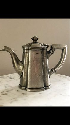 Available for purchase in my Etsy shop Silver Teapot, Home Accessories, Tea Pots, Vintage Outfits, My Etsy Shop, Therapy, Antiques, Business, Unique Jewelry