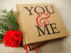 Our first anniversary journal · first anniversary gift · marriage