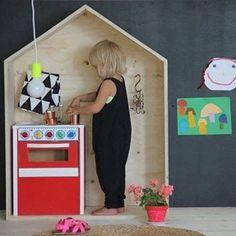 Respost @elefantedesign  Que tal brincar nessa casinha? ❤️❤️❤️ #inspiramooui #lookinspiração