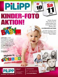 Happy Baby: Kinderfoto-Aktion am 10.04. & 11.04.2015 in Bindlach