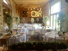 """Whimsical and light"" was the theme for our recent set up in the Banqueting Hall, Pentney Abbey, Norfolk"
