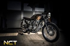 ϟ Hell Kustom ϟ: Honda CB550 By NCT Motorcycles