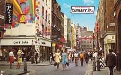 Carnaby Street London, 1969